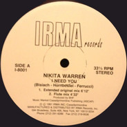 Nikita Warren - I Need You