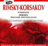 Rimsky-Korsakov / Borodin (Ozawa) - Scheherazade / Prince Igor -  Polovtsian Dances
