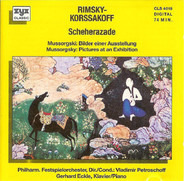 Nikolai Rimsky-Korsakov , Modest Mussorgsky , The London Festival Orchestra , Vladimir Petroschoff - Scheherazade