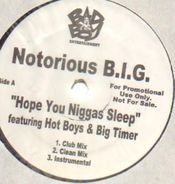 Notorious B.I.G. - Hope You Niggas Sleep / Big Booty Hoes