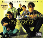 Oasis - Interview Disc & Fully Illustrated Book