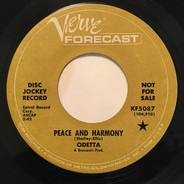 Odetta - Peace And Harmony / Until It's Time For You To Go