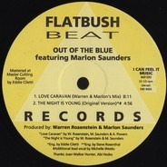 Out Of The Blue Featuring Marlon Saunders - Love Caravan