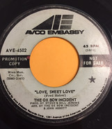 Ox-Bow Incident - Love, Sweet Love / I'd Stumble And Fall