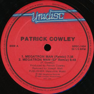 Patrick Cowley - Megatron Man / Menergy