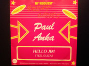 Paul Anka - Hello Jim / Steel Guitar