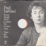 Paul Da Vinci - Every Single Word (Lullaby For Grownups)