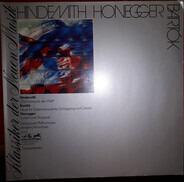 """Hindemith / Bartok / Honegger - Die Harmonie der Welt / Musik für Saiteninstrumente, Schlagzeug & Celesta / Symphonie Nr. 3 """"Liturg"""