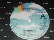 Paul Nicholas With Sharon Lee-Hill - The Least Of My Troubles