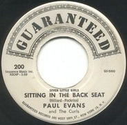 Paul Evans And The Curls - Seven Little Girls Sitting In The Back Seat / Worshipping An Idol