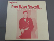 Pee Wee Russell - A Chronological Remembrance