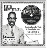 Peetie Wheatstraw - The Devil's Son-In-Law: Complete Recorded Works In Chronological Order, Volume 4 (20 February 1936