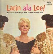 Peggy Lee With Jack Marshall's Music - Latin Ala Lee!