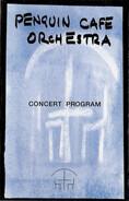 Penguin Cafe Orchestra - Concert Program