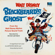 Peter Ustinov And Dean Jones And Suzanne Pleshette - Walt Disney Presents The Story Of Blackbeard's Ghost