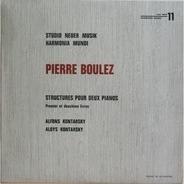 Pierre Boulez - Structures Pour Deux Pianos - Premier Et Deuxième Livres
