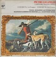 Locatelli - Lautenbacher & Mainzer Kammerorch. (G Kehr) - Concert Nr. 1 in D / Nr. 4 in E