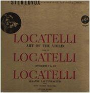 Locatelli - Lautenbacher , Kehr w/ Mainz Kammerorch. - Art of the Violin - Vol. II, Concerti 7-12