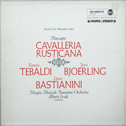 Pietro Mascagni - Alberto Erede - Cavalleria Rustican