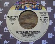 Platypus - Appreciate Your Love