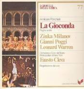 Ponchielli - La Gioconda,, Teatro Metropolitan NY, Cleva, Milanov, Poggi, Warren