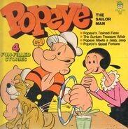 Popeye - The Sailor Man - Popeyes's Trained Fleas / The Sunken Treasure Affair