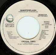 Quarterflash - Critical Times