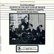 Quintet Of The Hot Club De France - First Recordings!