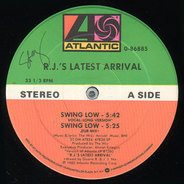 R.J.'s Latest Arrival - Swing Low