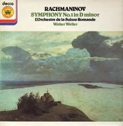 Rachmaninoff / The London Philharmonic Orchestra, Walter Weller - Symphony No 1 In D Minor, Op 13