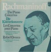 Rachmaninoff - The Piano Concertos,, Rafael Orozco, Royal Philharmonic Orch, Edo de Waart