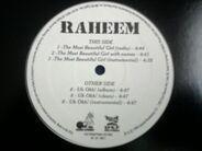 Raheem, Raheem The Dream - The Most Beautiful Girl / Uh Ohh!