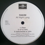 Rakim - All Night Long