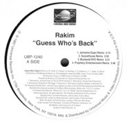 Rakim - Guess Who's Back (Remixes)