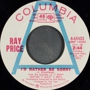 Ray Price - I'd Rather Be Sorry
