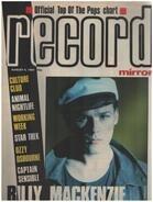 Record Mirror - AUG 4 / 1984 - Billy Mackenzie