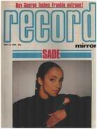 Record Mirror - MAY 12 / 1984 - Sade