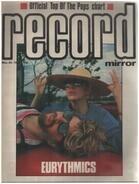 Record Mirror - MAY 26 / 1984 - Eurythmics