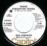 Red Simpson - Those Forgotten Trains / Milesaver Man