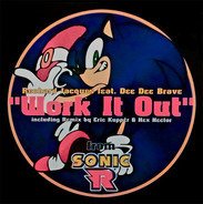 "Richard Jacques Feat. Dee Dee Brave - Work It Out From ""Sonic R"""