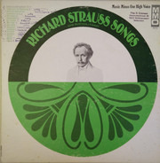 Richard Strauss , John Wustman - Richard Strauss Songs For High Voice