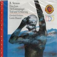 Richard Strauss (Maazel) - Don Juan / Till Eulenspiegel / Tod Und Verklärung