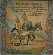 Richard Strauss (Mehta) - Also Sprach Zarathustra / Eine Alpensymphonie / Don Quixote a.o.