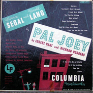 Rodgers & Hart / Vivienne Segal , Harold Lang - Pal Joey