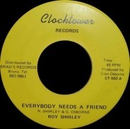 Roy Shirley - Everybody Needs A Friend