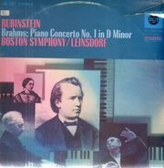 Rubinstein - Brahms, Piano Concerto No. 1; Boston Symphony, Leinsdorf