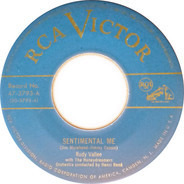Rudy Vallee With The Honeydreamers - Sentimental Me