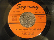 Rudy West And The Five Keys - Out Of Sight Out Of Mind / You're The One