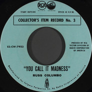 Russ Columbo / Rudy Vallee - You Call It Madness / My Time Is Your Time