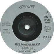 Sabrina - Boys (Summertime Love)